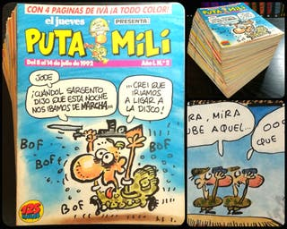 Puta Mili (101 revistas)