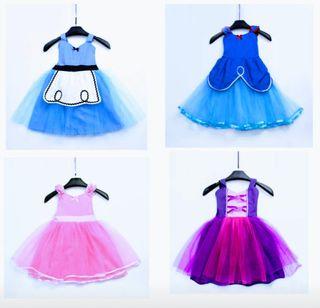 disfraz niña bebé nuevo vestido princesa