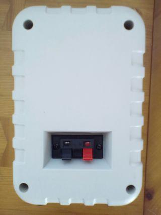 Altavoces HIFI de 2 vías y 100W de potencia