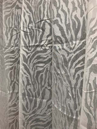 Visillo print animal (2uds)