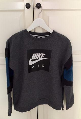 Sudadera niño Nike Air gris