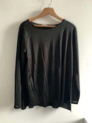 Camiseta manga larga mujer Zara