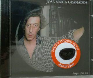 JOSE MARIA GRANADOS - AQUÍ NO ES - CD - MÚSICA