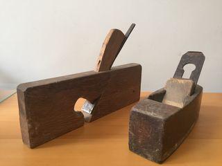 Herramientas de carpintero antiguas