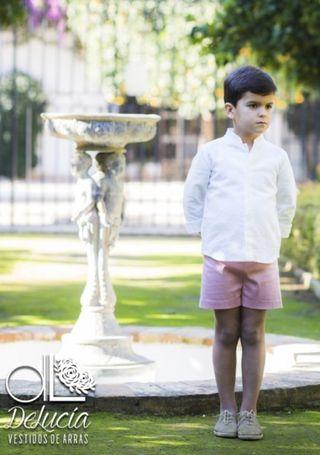 Conjunto niño ceremonia El armario de Lucia (5 año