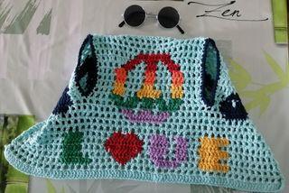 Disfraz hippie bebé + regalo
