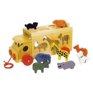 """Coche """"Zoo con animales"""""""