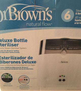 ESTERILIZADOR BIBERONES DR BROWN'S