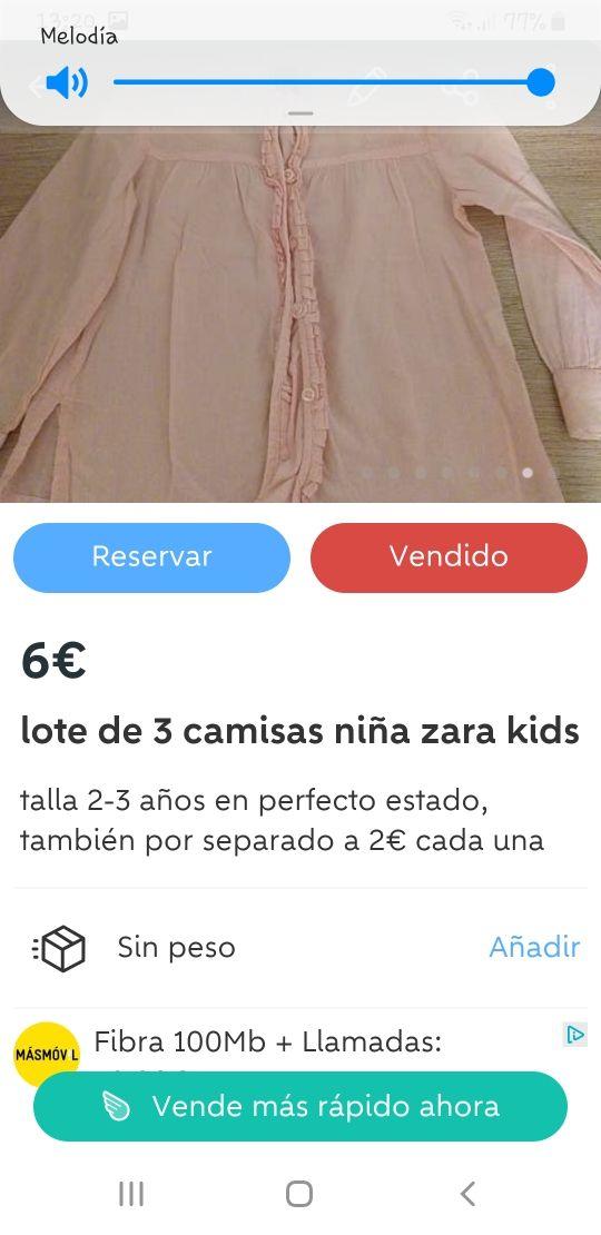 LOTE ROPA NIÑA 3 AÑOS