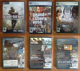 GTA 4___COD 4 Modern warfare __Sacred 2