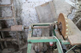Lijadora trifasica disco y rodillo carpinteria