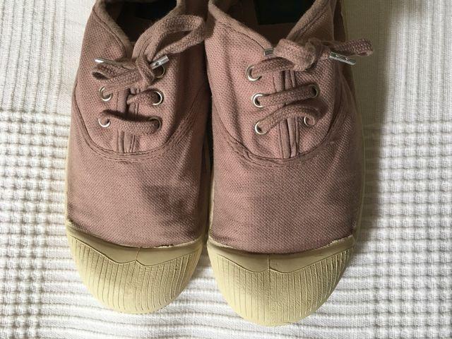 Poder Niños Acorazado  Zapatillas Bensimon de segunda mano por 13 € en Madrid en WALLAPOP