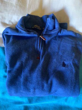 Jersey azul Ralph Lauren