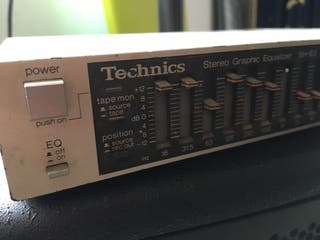 Technics Equalizador vintage