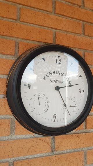 Reloj pared terraza
