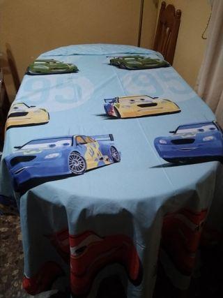 Colcha de los dibujos LOS CARS