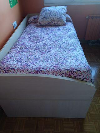 cama nido de madera