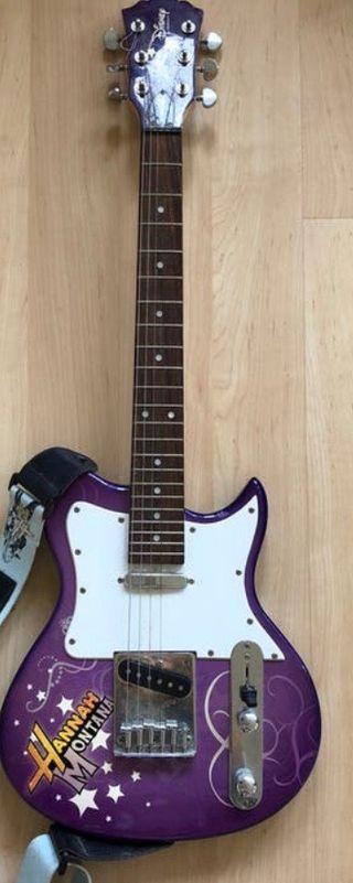 Guitarra eléctrica Hannah Montana