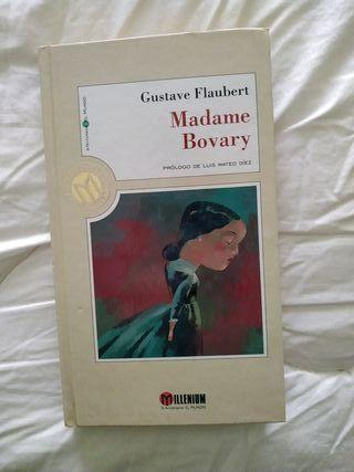 libro madame bovary. Gustavo Flaubert.