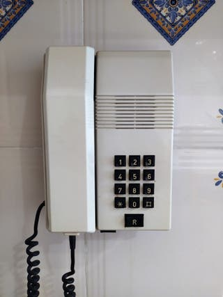 TELEFONO TEIDE de pared. AÑOS 80.
