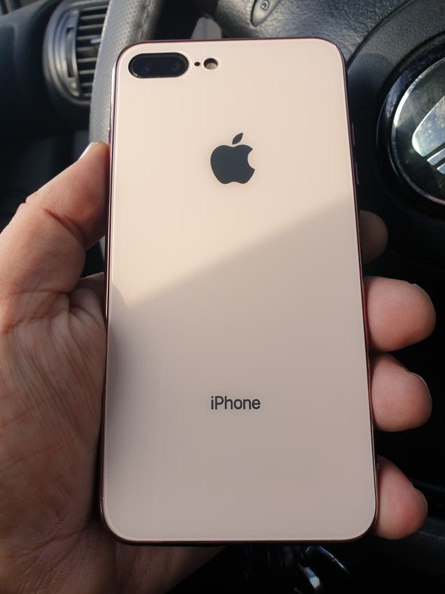iphone 8 plus 256 gb. impecable 10/10