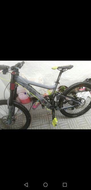 bicicleta giant glory dh descenso