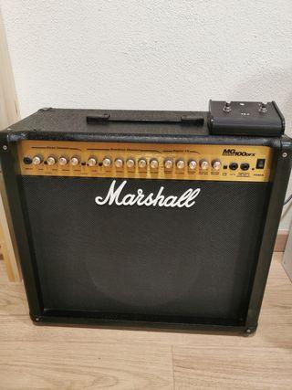 Amplificador guitarra eléctrica Marshall