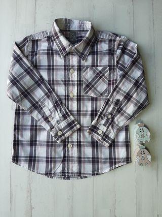 camisa T. 24 / 36 meses ZARA manga larga niño