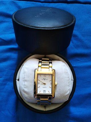 Reloj Paul Versan chapado en oro