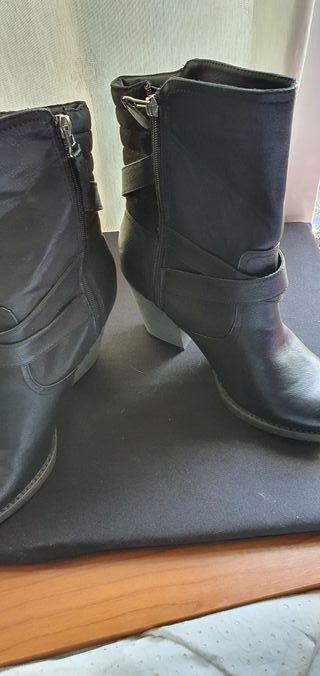 botas caño medio