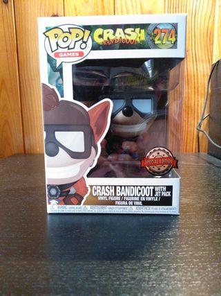Funko Pop! Crash Bandicoot Jet Pack