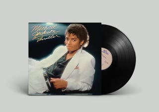 Michael Jackson Thriller 1982 1ª edición española