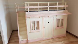 Casa Cama VTV Niña Completa Dormitorio Infantil