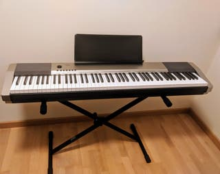 Piano digital casio CDP-130 BK (88 teclas)