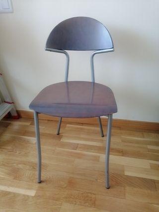 vendo juego 4 sillas