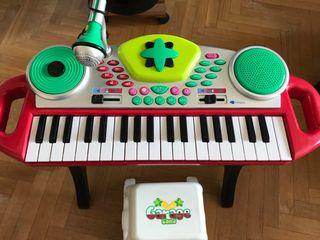 Piano musical con taburete - Imaginarium