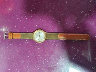 reloj de pulsera favre-leuba de cuerda antiguo
