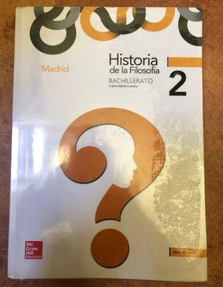 Historia filosofía 2 bachillerato
