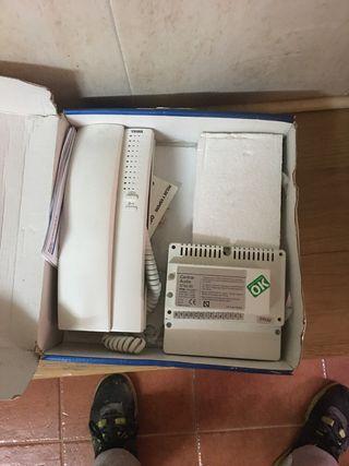 Telefonillo tegui + central de audio 3750 00