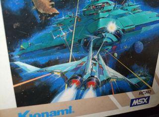 Juego MSX Nemesis de Konami