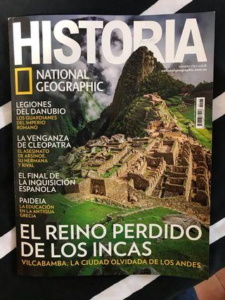 REVISTA HISTORIA NATIONAL GEOGRAPHIC