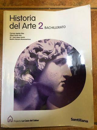 Historia del Arte 2 bachillerato de Santillana
