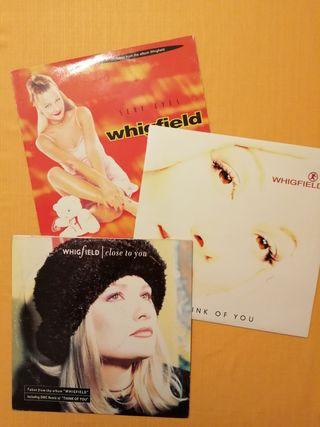 Discos Vinilo Maxi-Single de WHIGFIELD