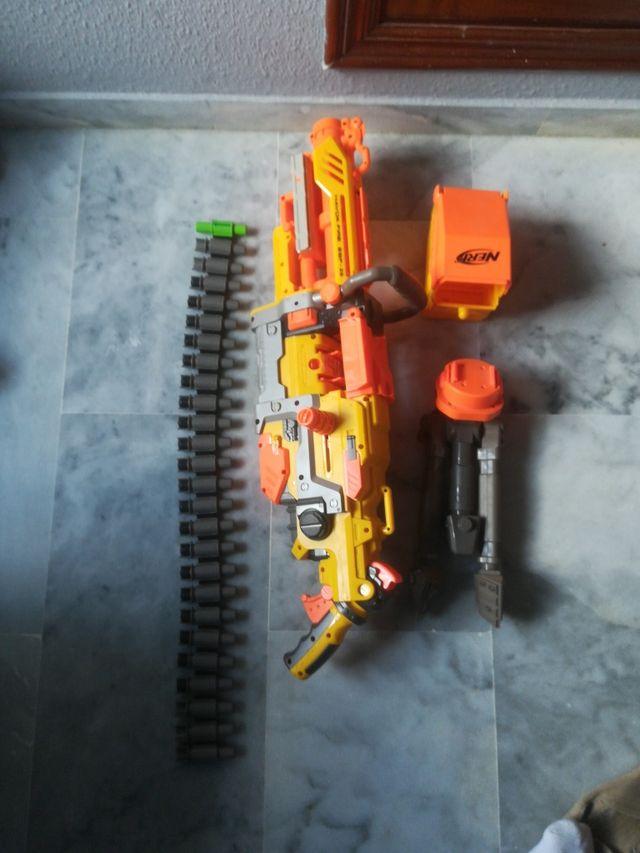 pistola de nerf