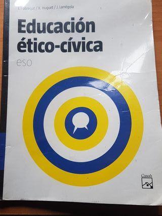 libro educacion etico-civica ESO