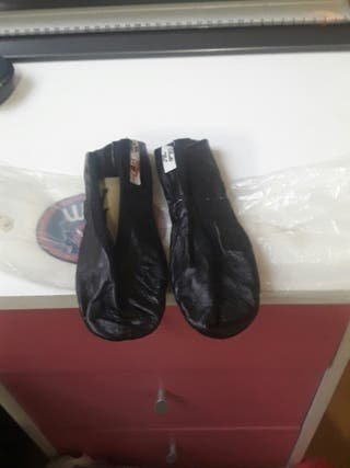 zapatillas ballet piel