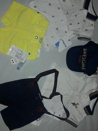 lote ropa niño talla 6 meses
