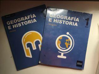 Libros de texto geografia e historia.