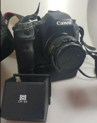 CAMARA CANON 7D DSLR + OBJETIVO 28mm + GRIP