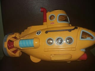 Submarino juguete Fisher Price, en perfecto estado
